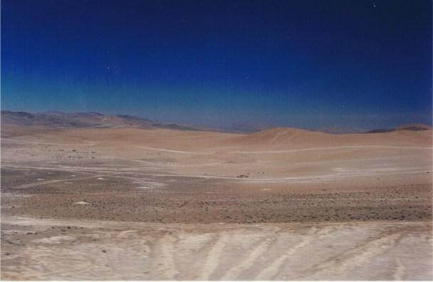 Azul... y su desierto...