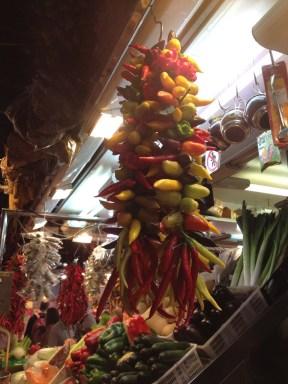 Ajíes o Hot peppers