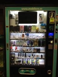 Distributrice de produits pour de cellulaires