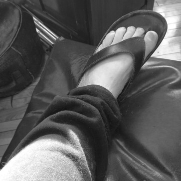 Self-foot Left