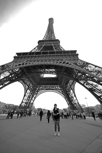 Tour Eiffel special wide angle view