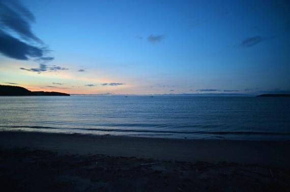 The sea at dawn I
