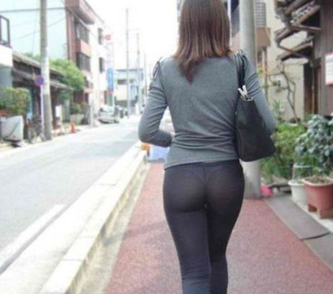 Walking the streets in America in yoga pants can get you arrested.