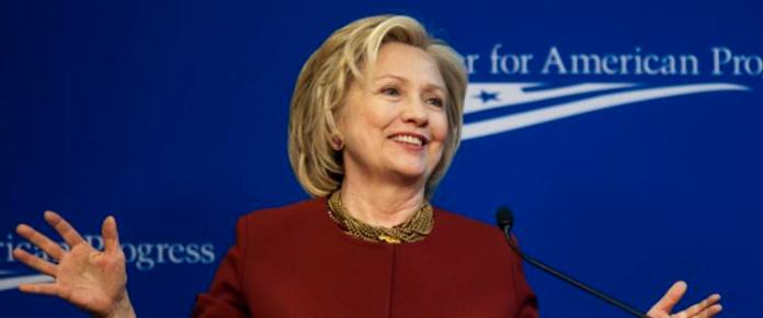 Hillary Clinton Speaks At The Center For American Progress