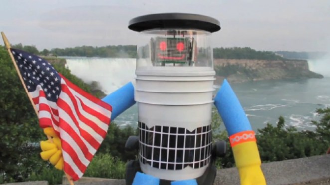 HitchBot-Niagara-Falls-Sized