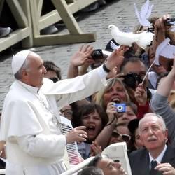 Papa Francisco en San Pedro