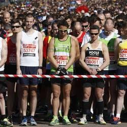 A Marathon starting line