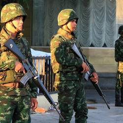 Thailand is in the hands of the army