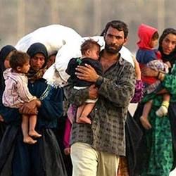 Prófugos sirios