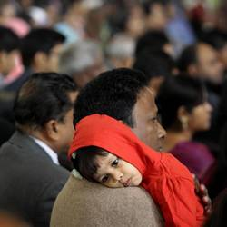 A child at mass