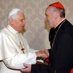 Un incontro tra Benedetto XVI e Bergoglio