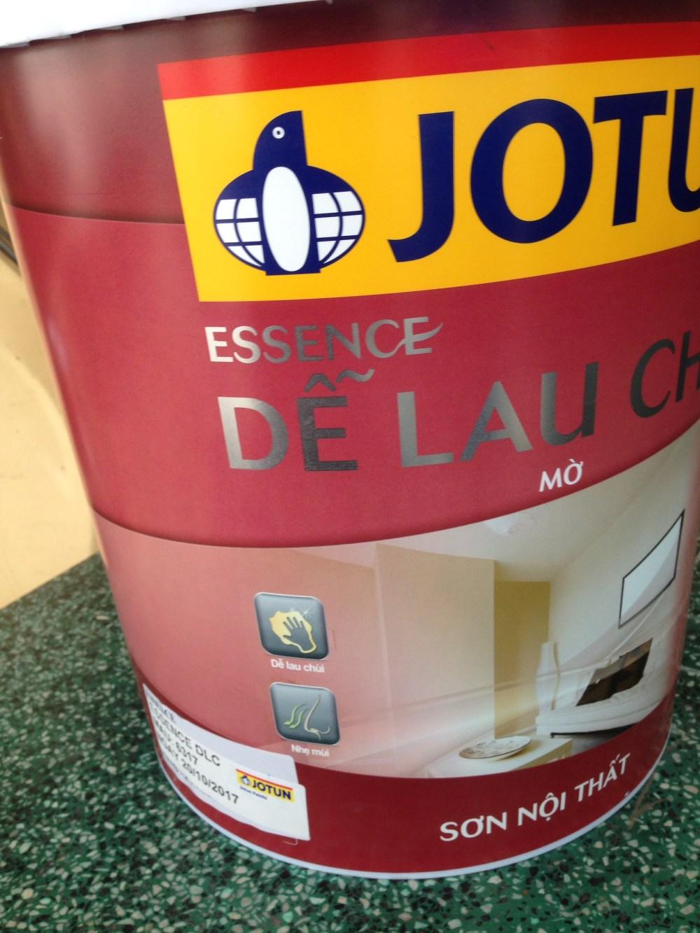 Sơn Jotun Essence dễ lau chùi