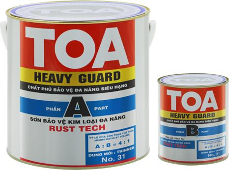 Toa heavy Guard rusttech