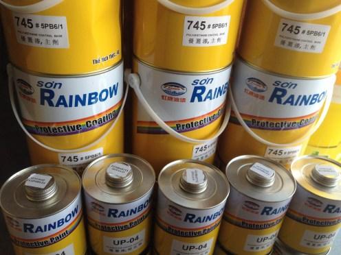 SƠN PU RAINBOW 745 (1)