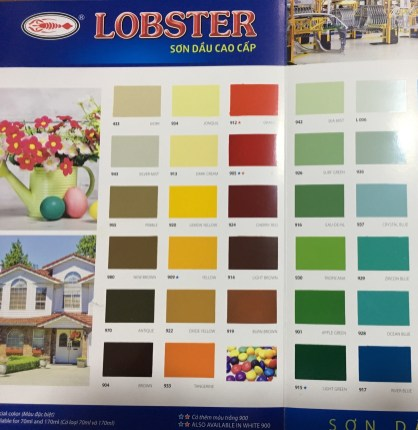 bang màu sd Lobster (3)