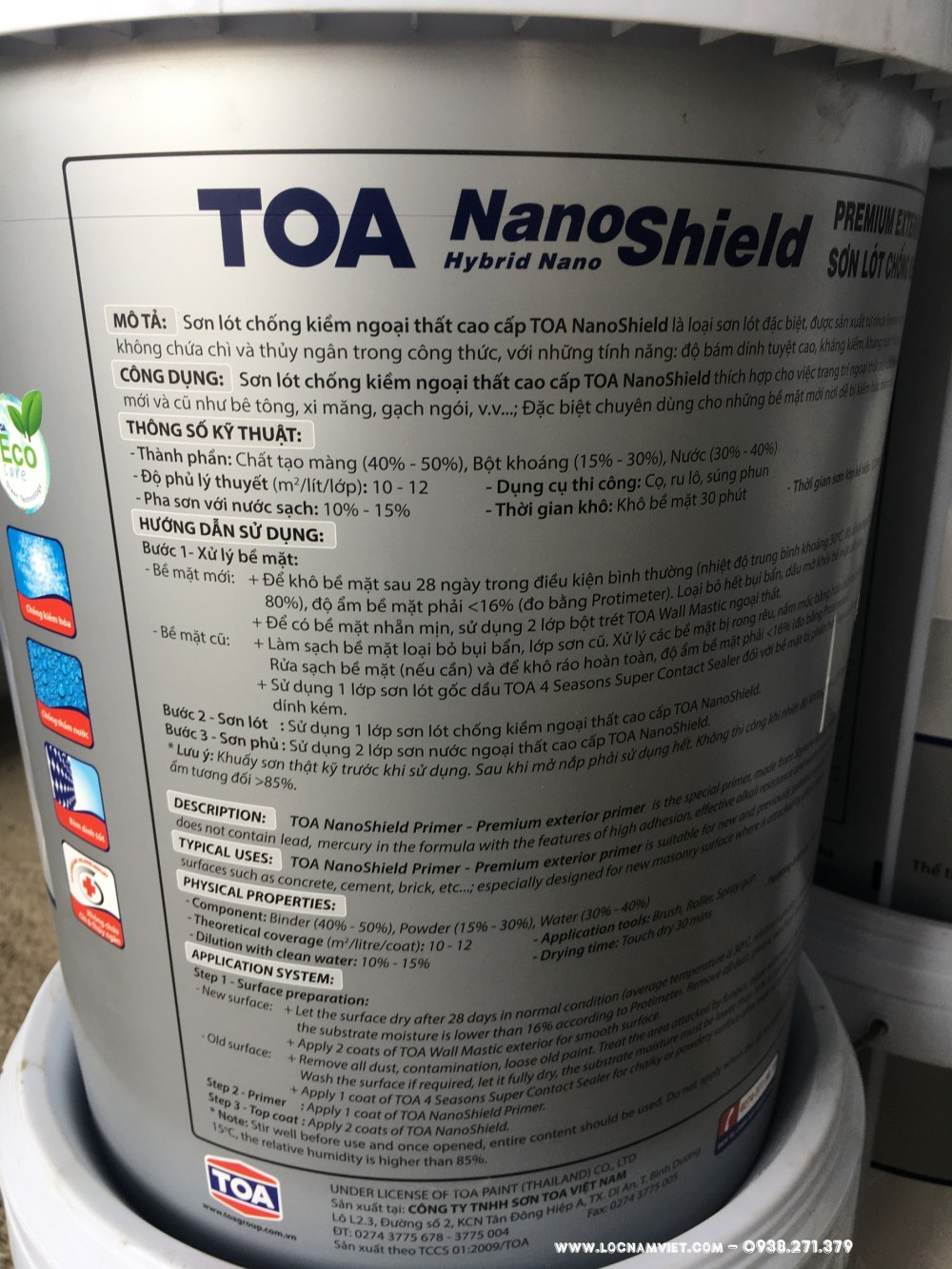 SON LOT CHONG KIEM NGOAI THAT TOA NANOSHIELD - (6)