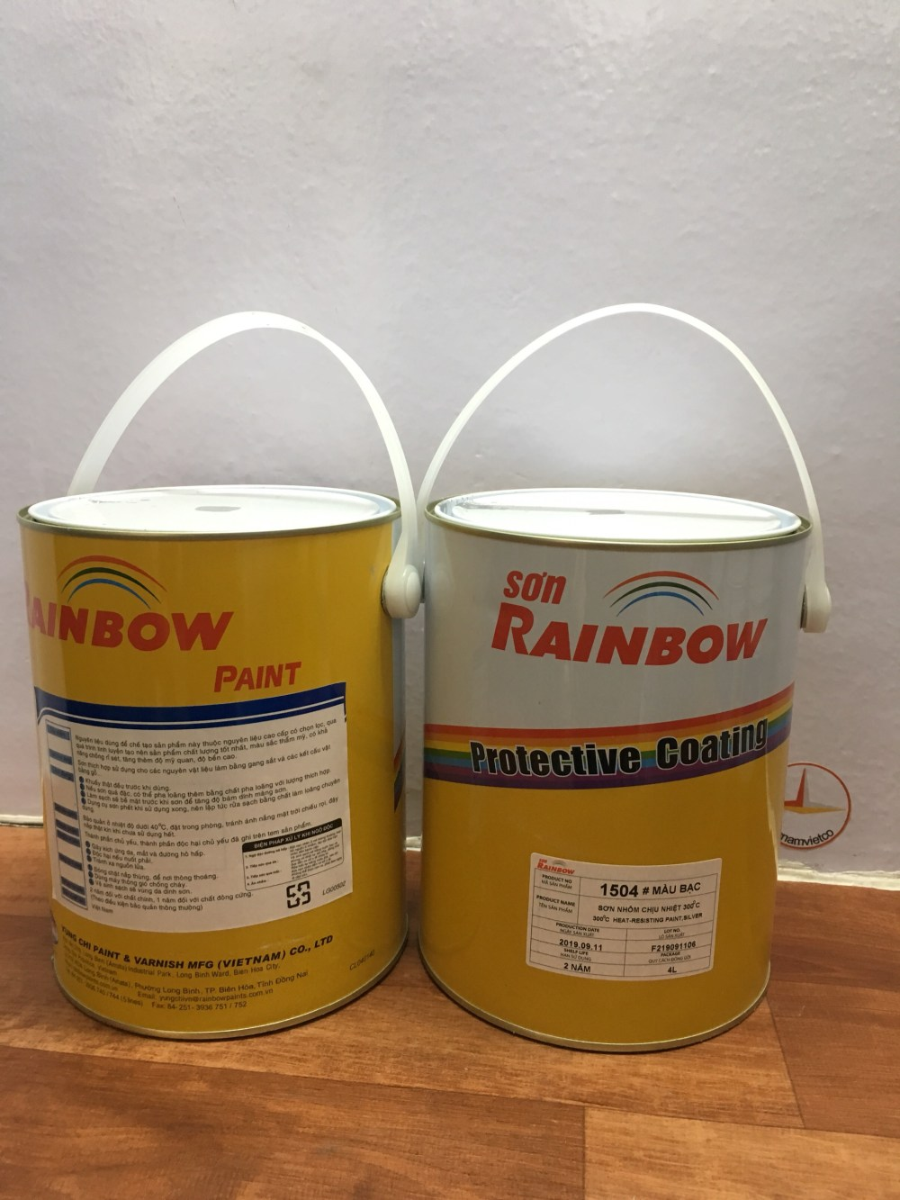SON NHOM CHIU NHIET 300 DO C RAINBOW 1504 BAC -4L (2)