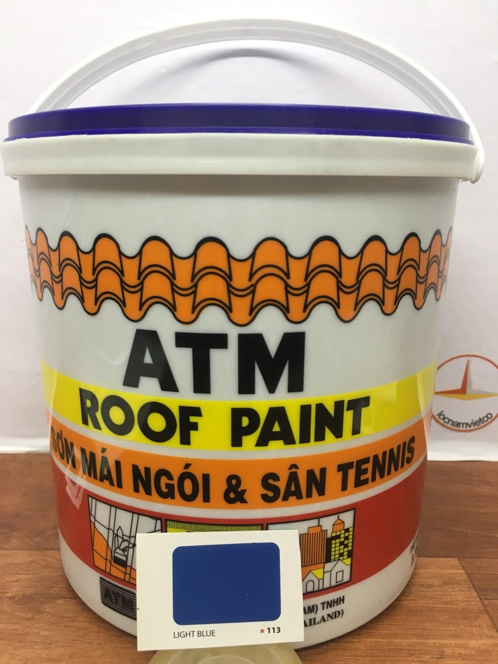 SON MAI NGOI & TENNIS ATM ROOF PAINT LIGHT BLUE 113 (2)