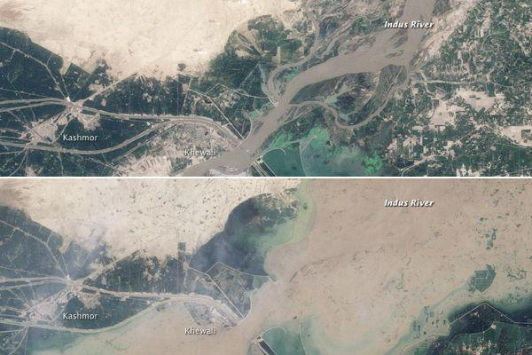 Pakistan Flooding Imagery