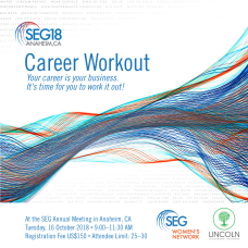 SEG Annual Meeting Career Workout for Instagram