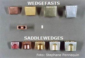 foto 15. Wedgefasts y Saddlewedges