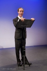 Harold Moeller performs at Bindlestiff Open Stage Variety show.