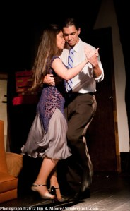 The Milango style of Tango is danced by Nico and Azul.