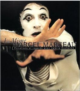 A coffee table book dedicated to the life of mime Marcel Marceau