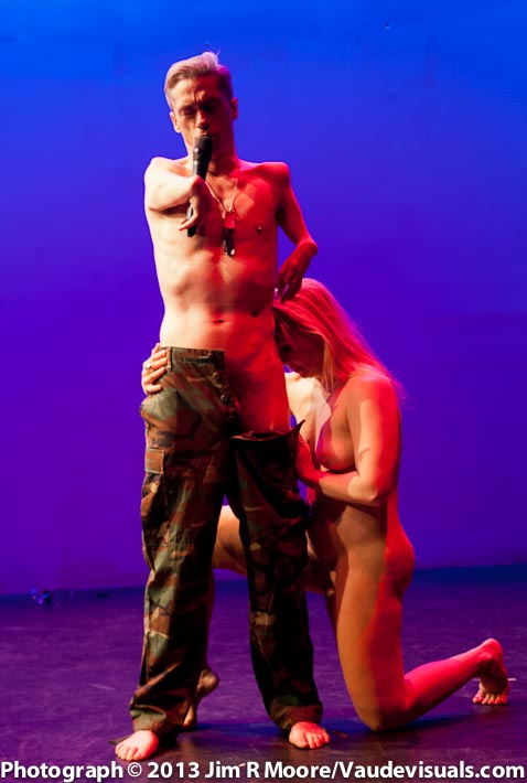 Mat Fraser and Julie Atlas Muz add spice to the evening's festivities.