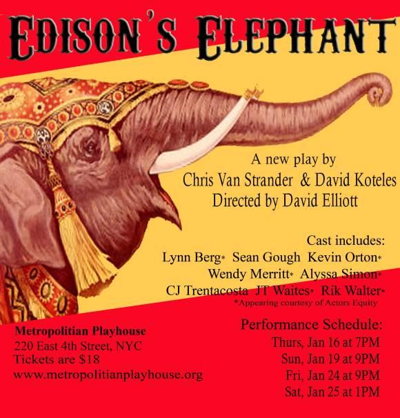 Edison's Elephant Poster