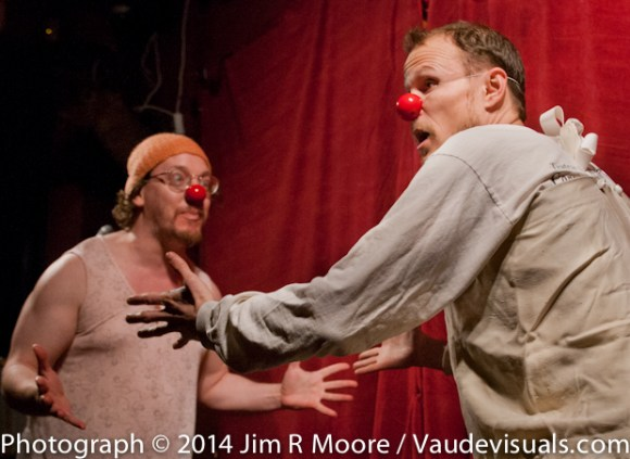 2 Brothers clown duo perform at tinydangerousfun