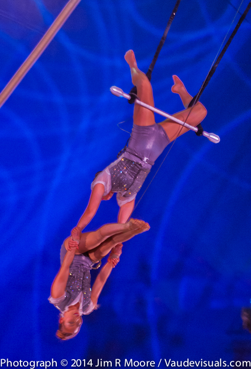 Mongolian Angels were amazing at the Big Apple Circus