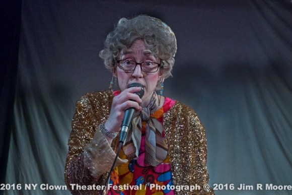 Fantasy Grandma at the NY Clown Theater Festival