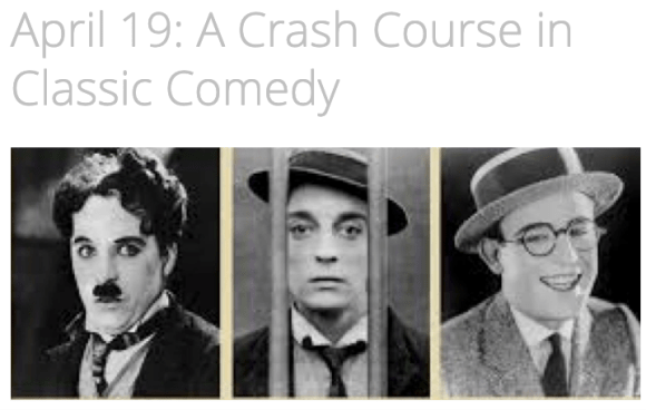 Check out the Onlne Course in Comedy taught by Trav SD.