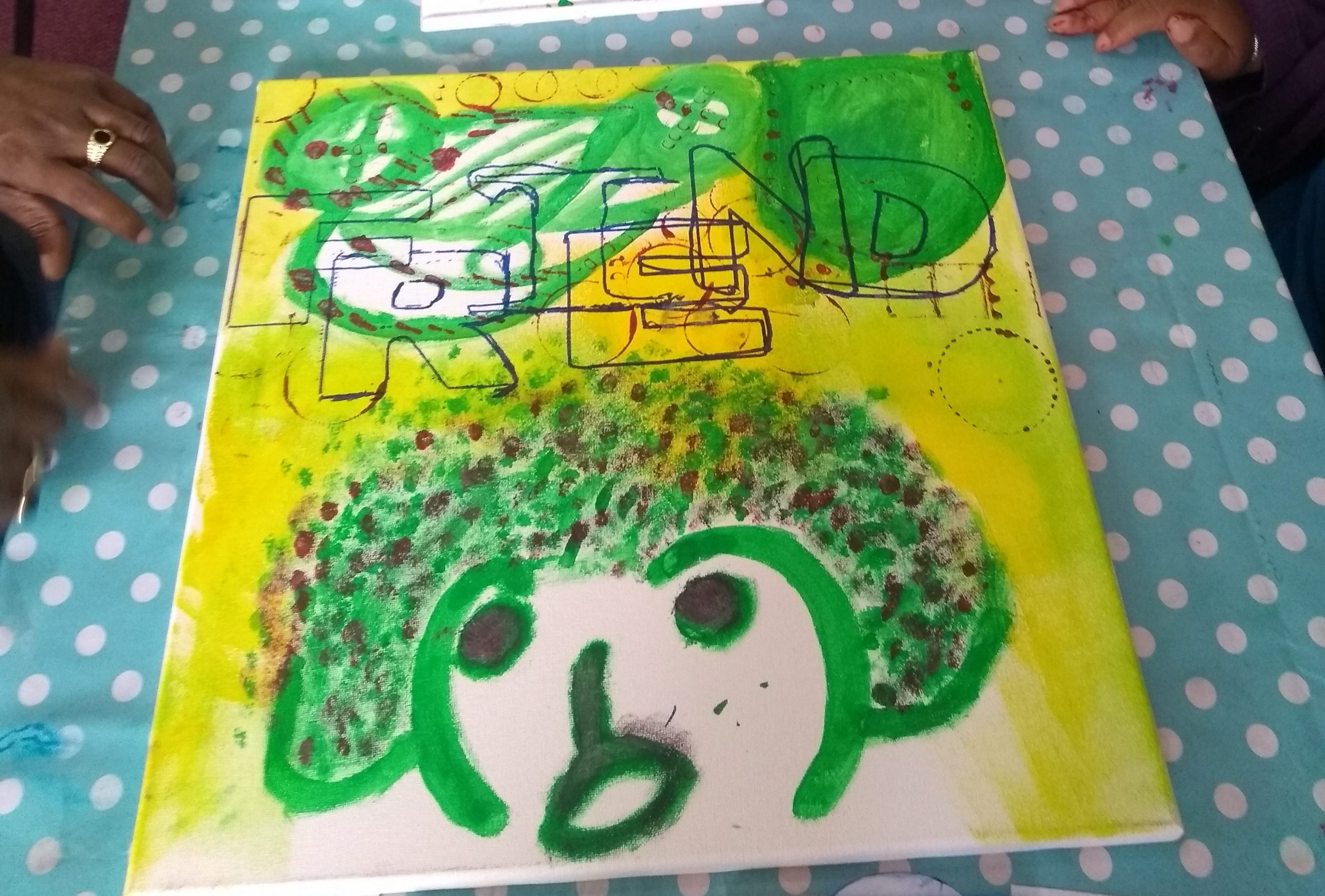 Artwork created by the Community Explorers Project