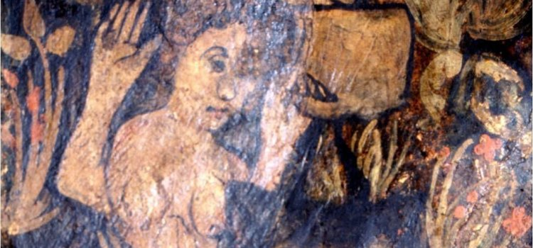 Womanly wickedness in West Midland medieval wall paintings - Alewife at Coventry