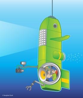 Diagram of Deep Sea Submersible