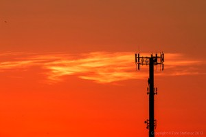 Cellular Sunrise by Vaughan Weather