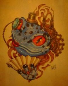 Steampunk Frog