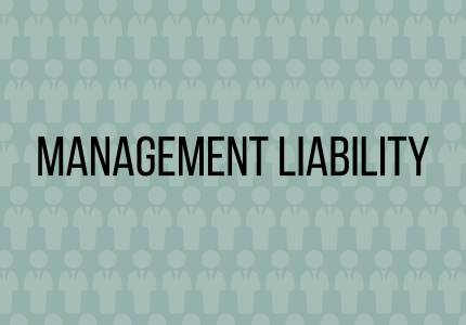 Insurance 101 -Management liability