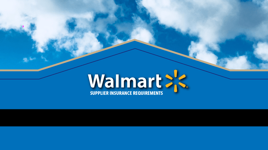Walmart Supplier Insurance 101