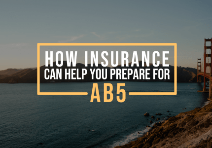 How Insurance Can Help You Prepare for AB5