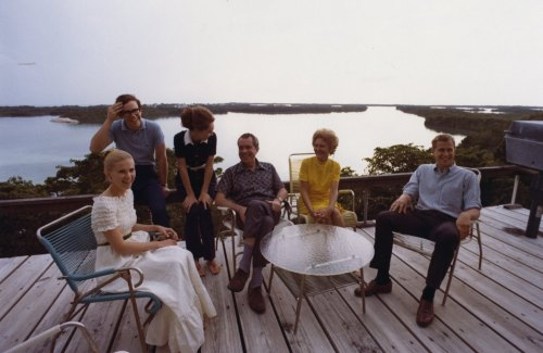 Nixon and family