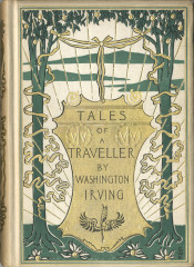 Washington Irving, Tales of a Traveller (NY: Putnam, 1895), gift of Wendi D. Slagle to George Mason University Libraries