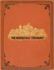 The Manuscript receipt book and household treasury (Philadelphia: Hartley, 1885) from the Rosemary Poole Collection, George Mason University Libraries