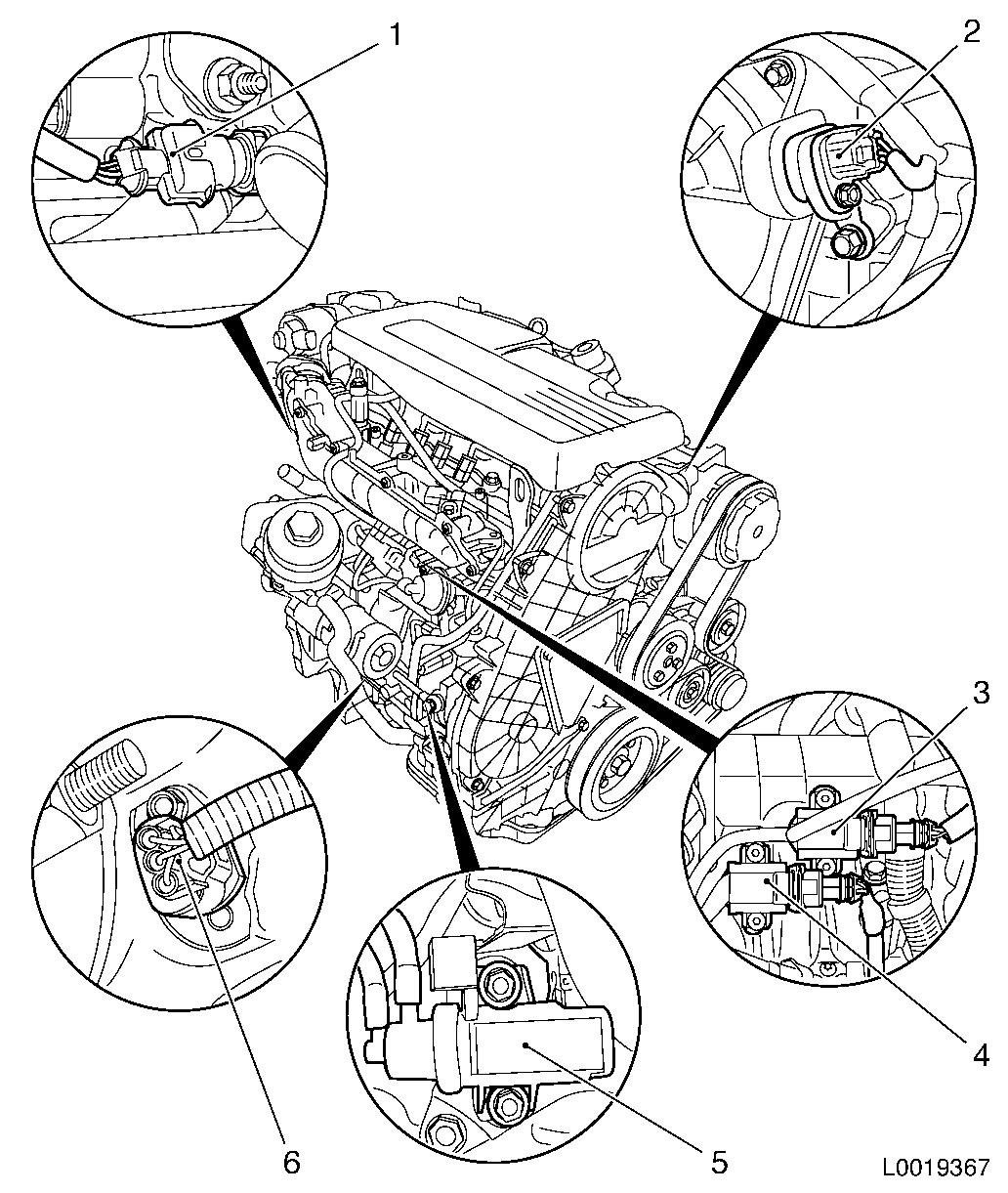 Vauxhall Workshop Manuals Gt Astra H Gt J Engine And Engine Aggregates Gt Dohcsel Engine