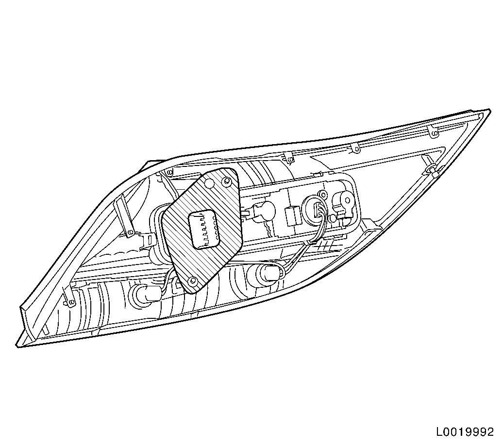 Impala Tail Lamp Wiring Harness