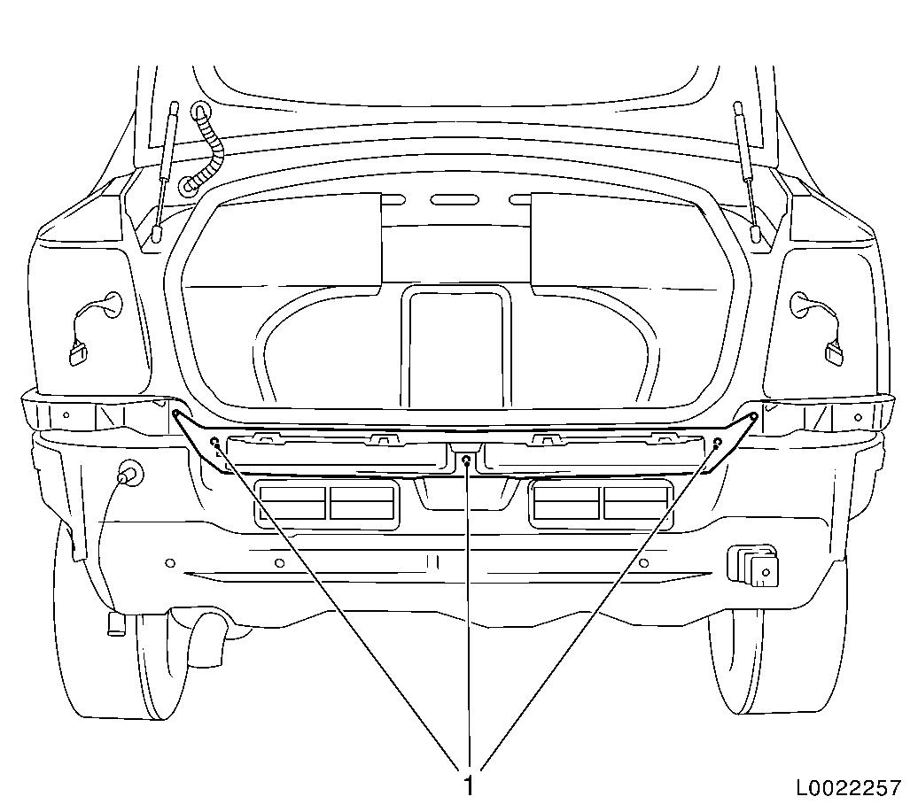 Vauxhall Workshop Manuals Gt Astra H Gt A Maintenance Body And Chassis Sheet Metal Parts Frame