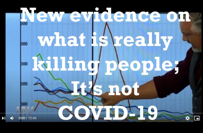 New evidence on what is really killing people