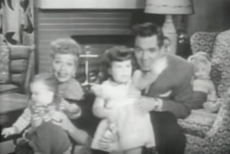 "In 1954, Lucille Ball and Desi Arnaz asked everyone to ""give every dime and dollar"" they could spare to fight polio."